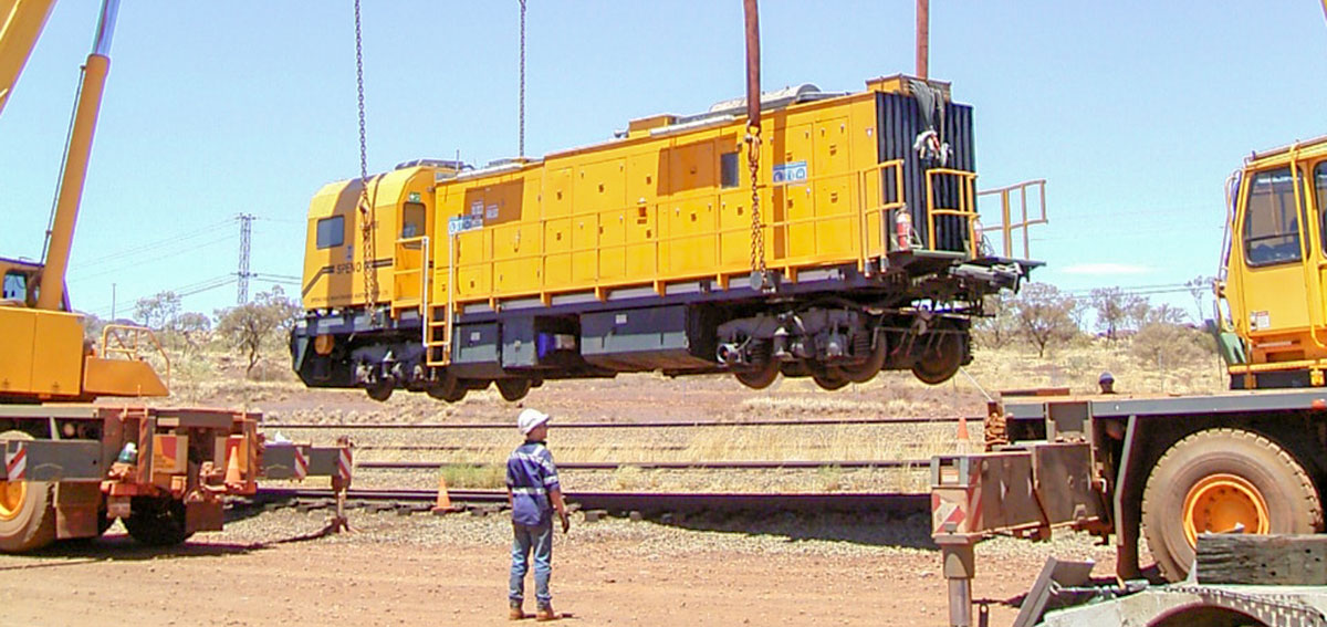 Speno Rail Maintenance Australia Pty. Ltd – Development